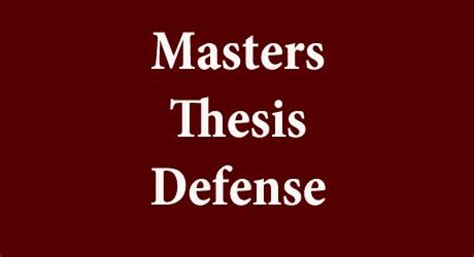 Prayer for successful thesis defense